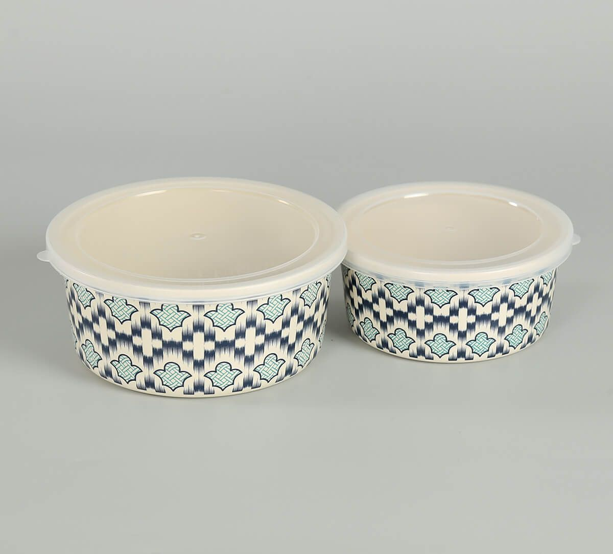 India Circus by Krsnaa Mehta Organised Ovule Small Container set of 2