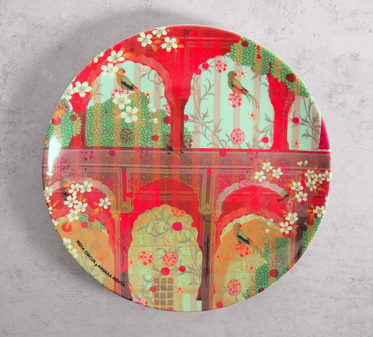 India Circus Capacious Corridor 10 inch Decorative and Snacks Platter