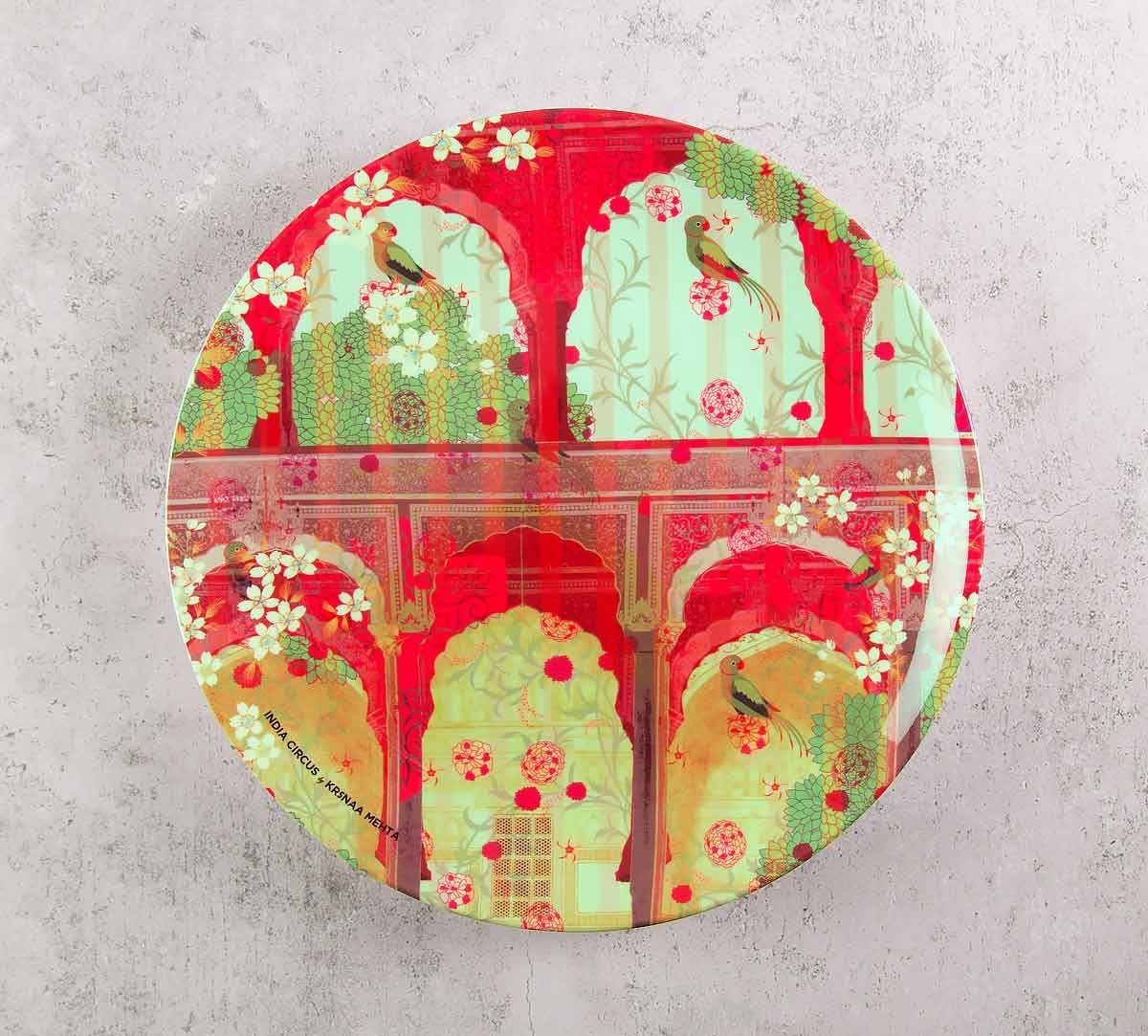 India Circus Capacious Corridor 8 inch Decorative and Snacks Platter