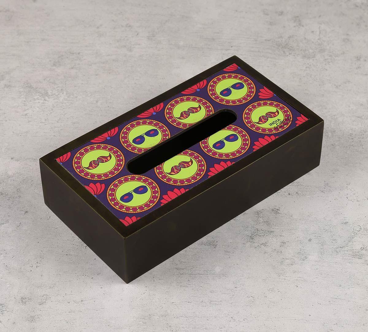 India Circus C'est La Vie Tissue Box Holder