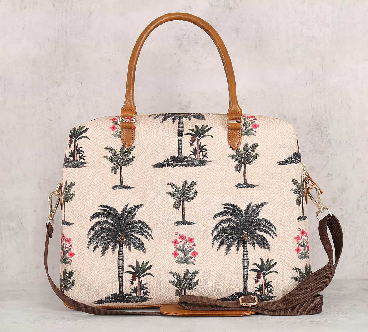 India Circus Chevron Palms Office Bag