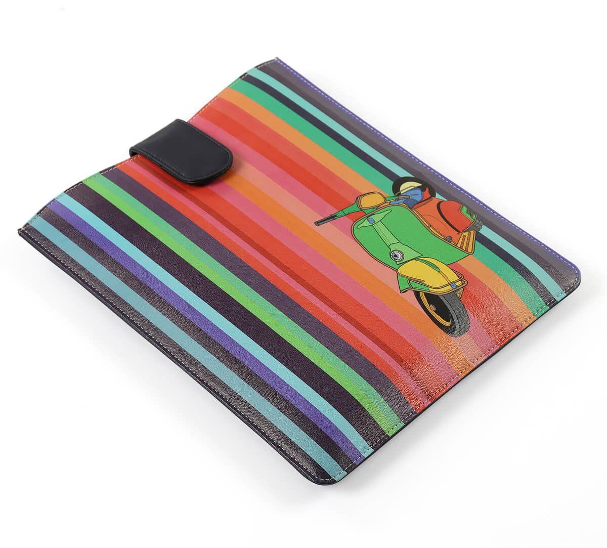 India Circus Colour Pop Scooter iPad Sleeve