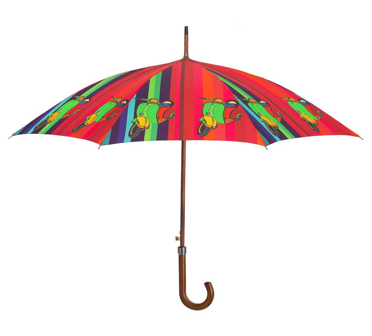 India Circus Colour Pop Scooter Umbrella