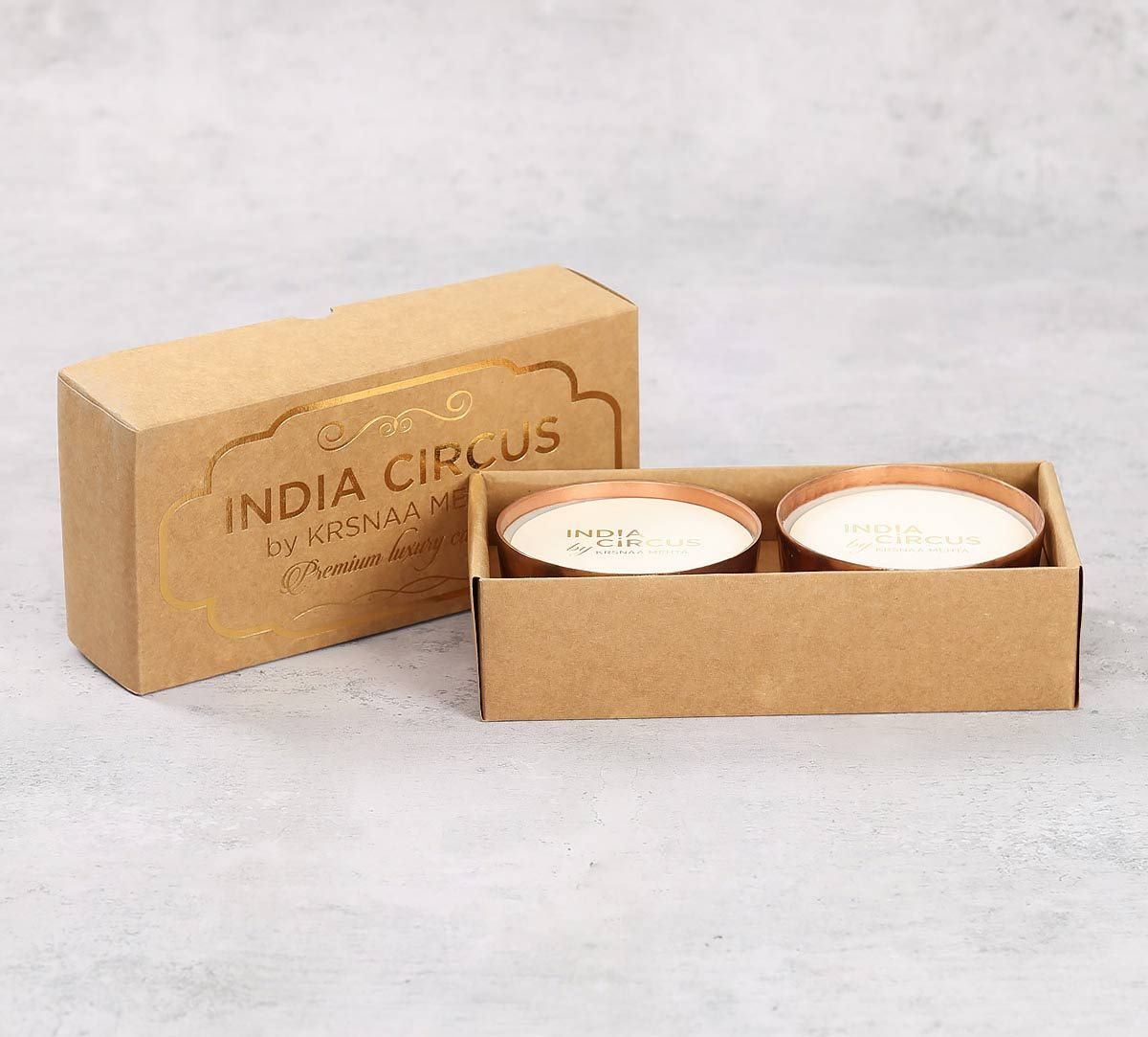 India Circus Copper Japanese Cherry Blossom Scented Bowl Candle