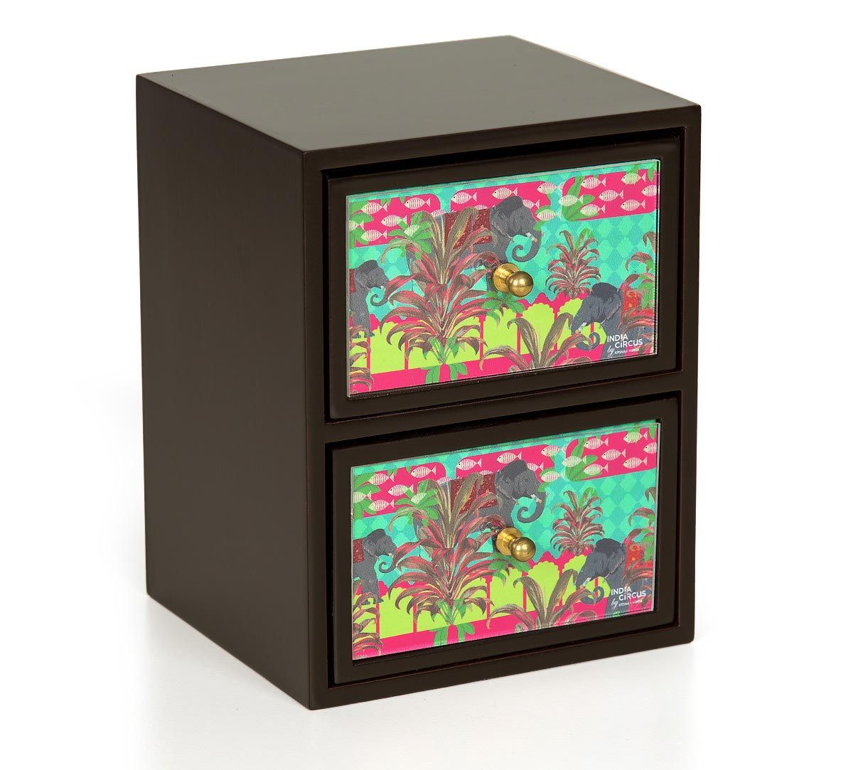 India Circus Countryside Tusker Chest of Drawer