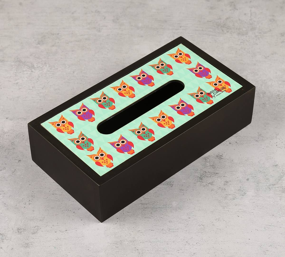 India Circus Disco Hedwig Tissue Box Holder