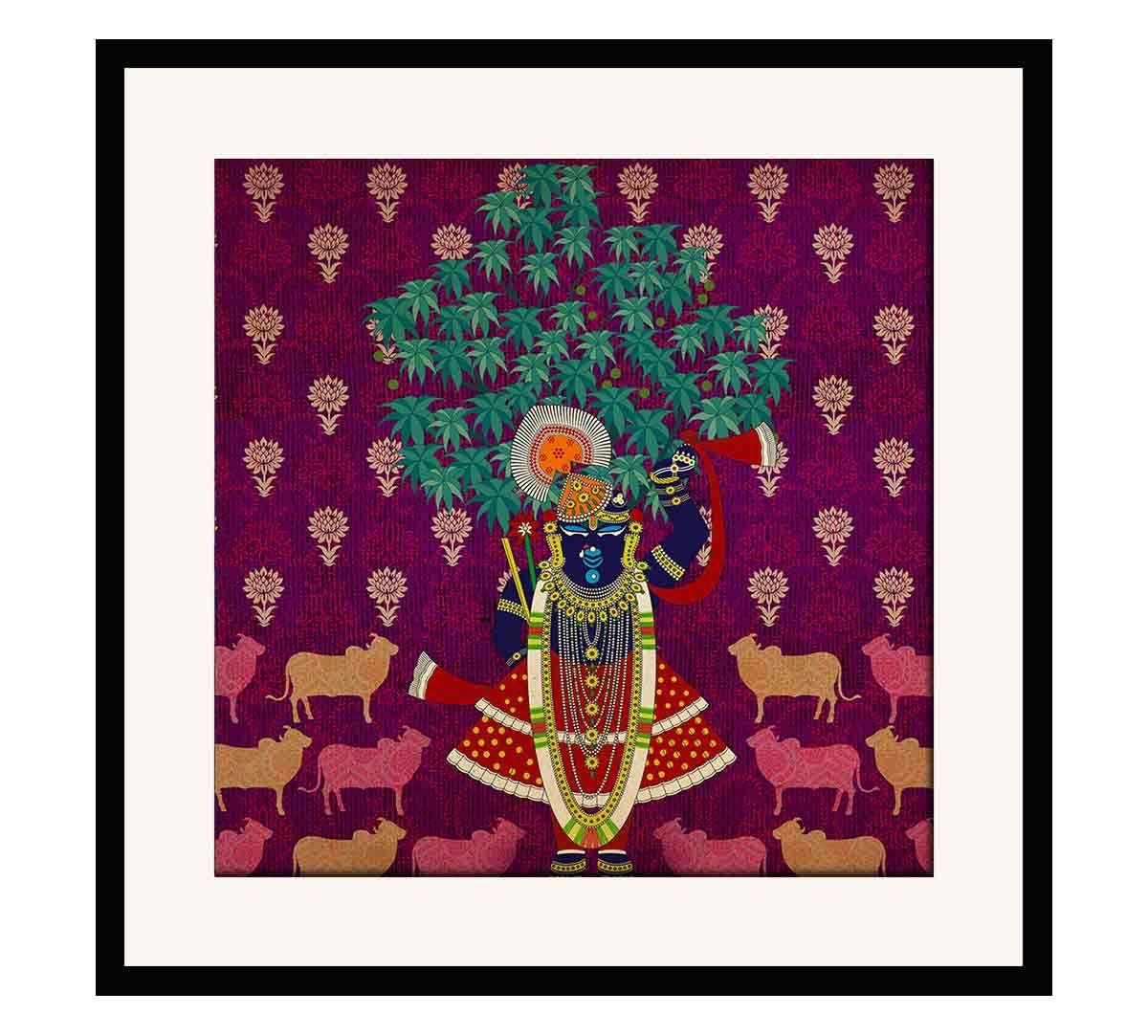 India Circus Divine Harmony Framed Wall Art
