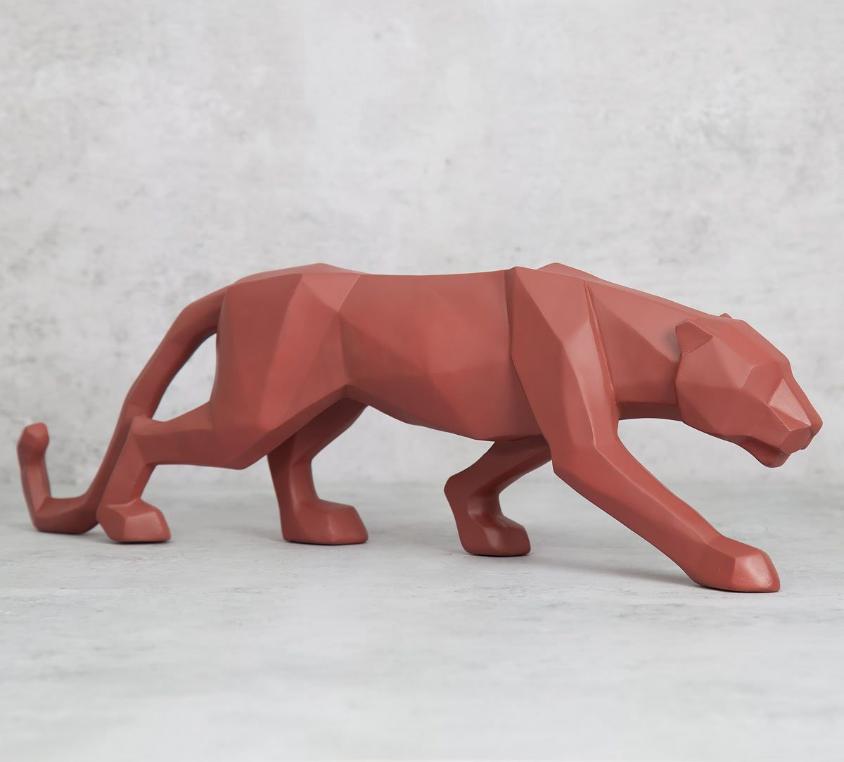 India Circus Dominant Panther Figurine