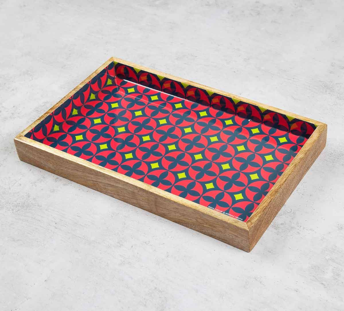 India Circus Elixir of Geometry Serving Tray