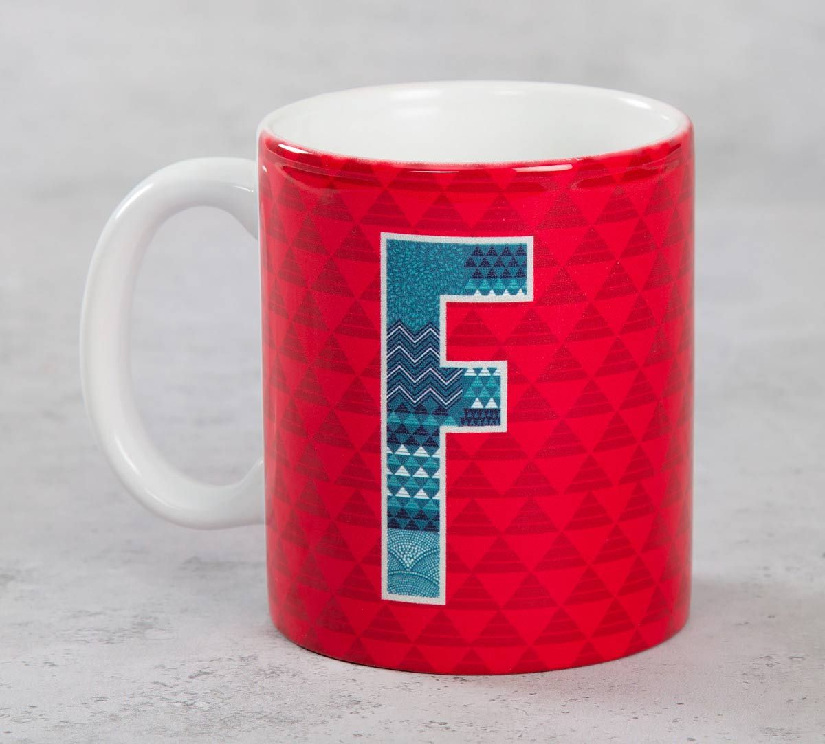 India Circus Fabulous Alphabet F Mug