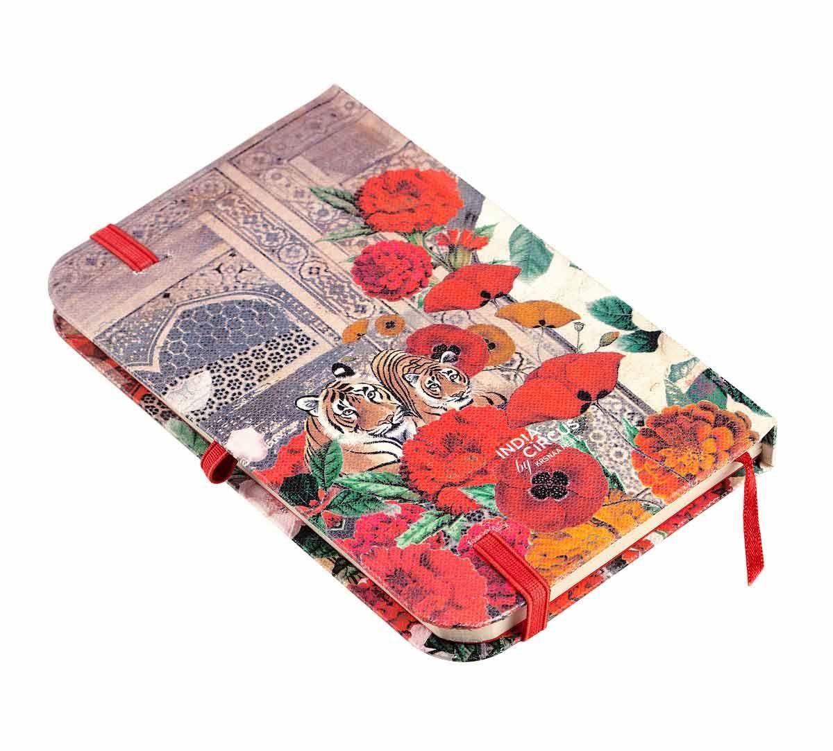 India Circus Floral Burst Pocket Diary