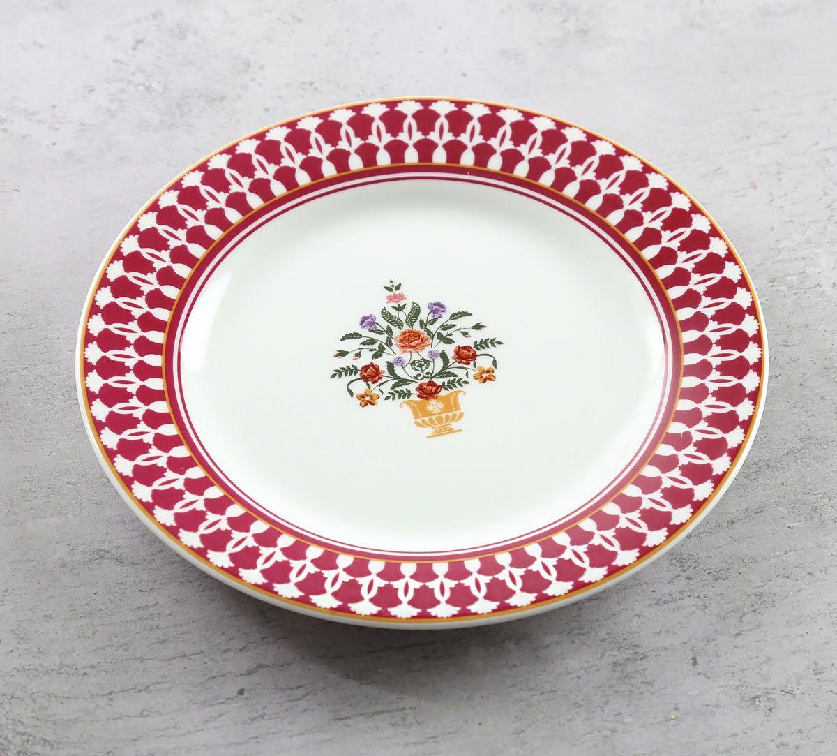 India Circus Floral Fountain Quarter Plate