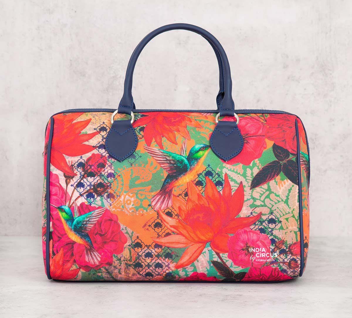 India Circus Floral Kingdom Duffle Bag