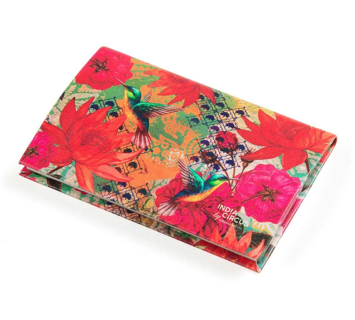 India Circus Floral Kingdom Visiting Card Holder