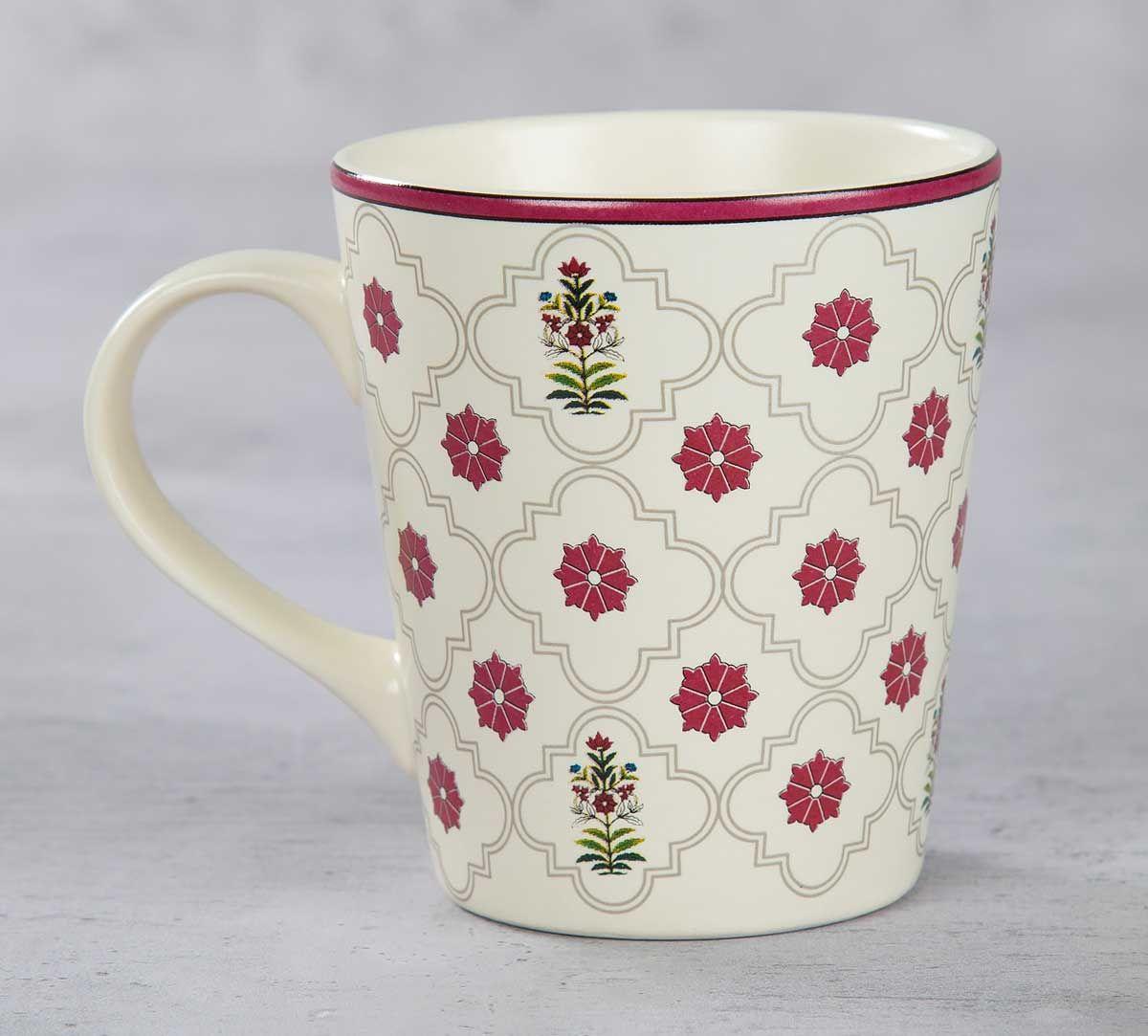 India Circus Floral Lattice Coffee Mug