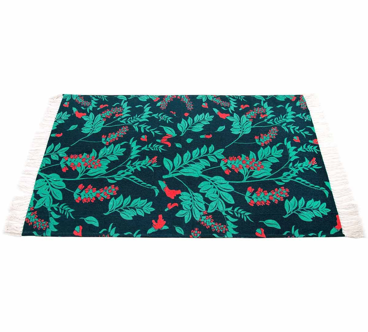 India Circus Flower Blooms Rug