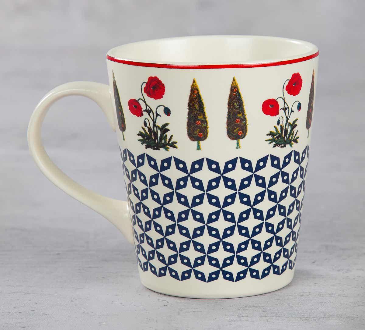 India Circus Flowers and Ferns Coffee Mug