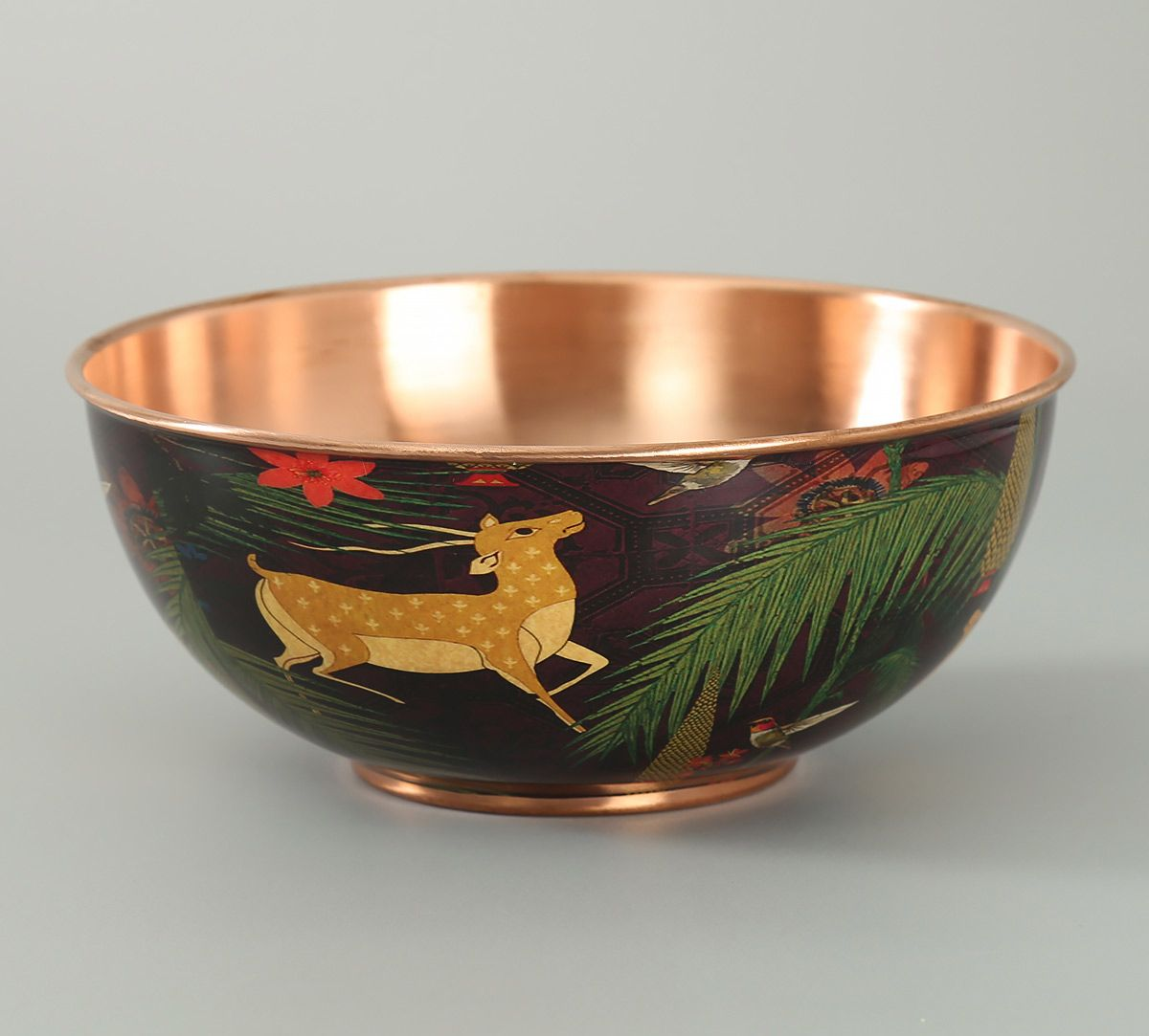India Circus Forest Fetish Copper Bowl