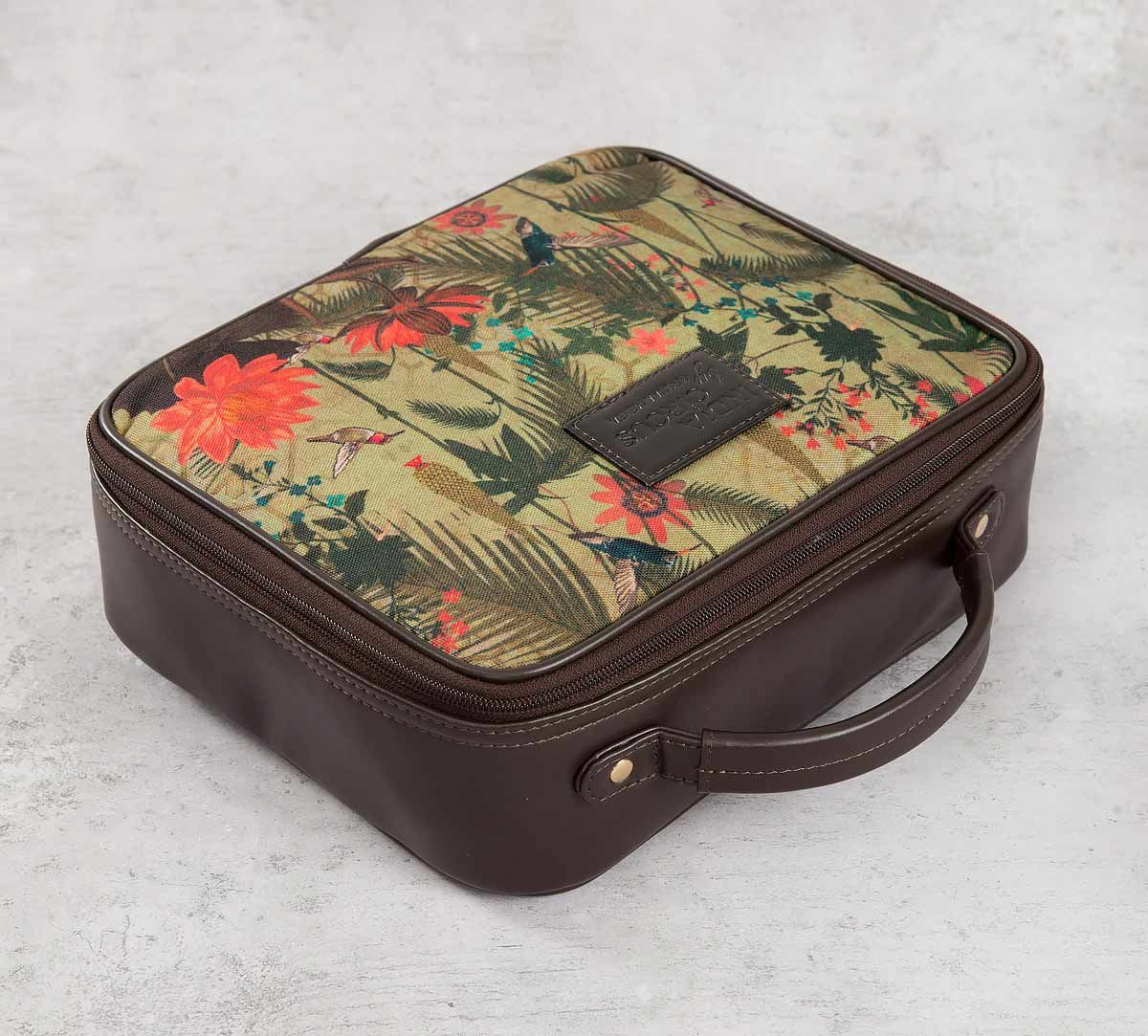 India Circus Forest Fetish Cosmetic Bag