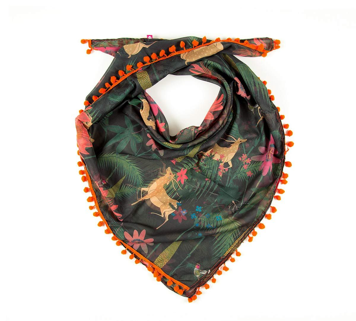 India Circus Forest Fetish Stole