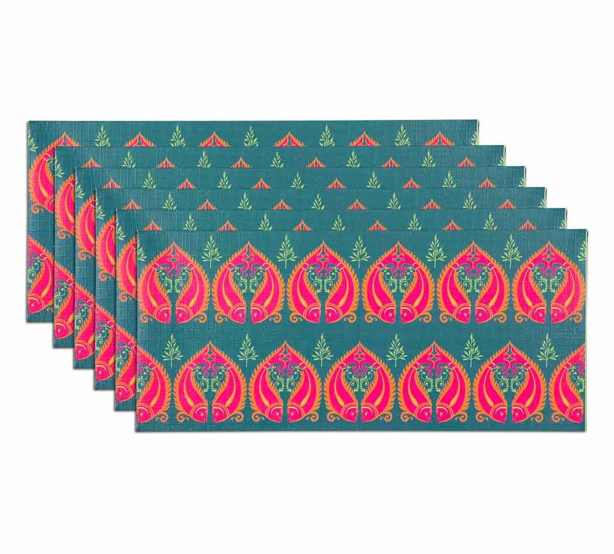 India Circus Fuchsia Fish Romance Gift Envelope Set of 6