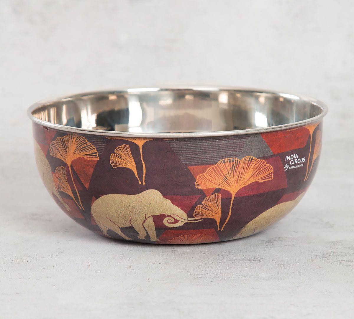 India Circus Gallant Tusker Serving Bowl