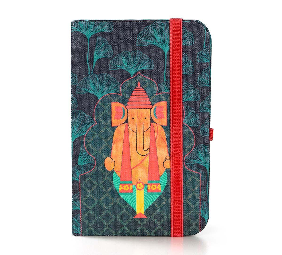 India Circus Ganeshas Riad Arch Pocket Diary