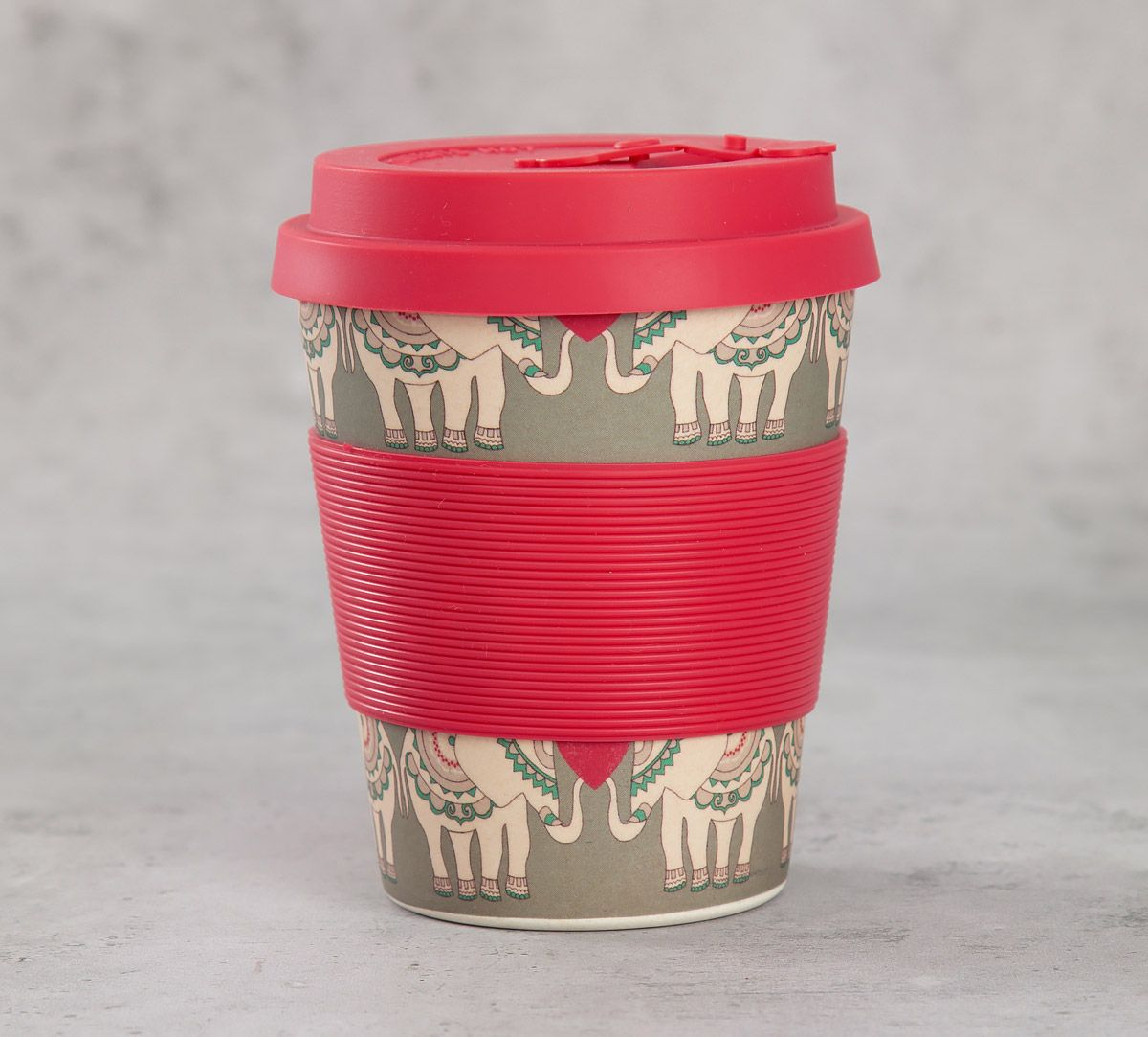 India Circus Heart Tusker Bamboo Frankie Cup