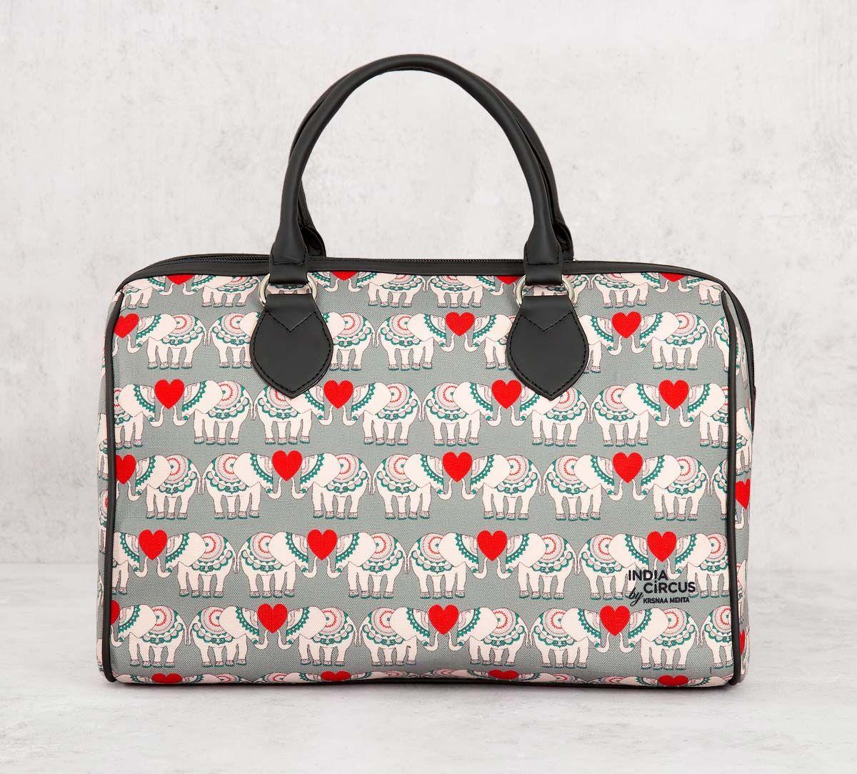 India Circus Heart Tusker Duffle Bag