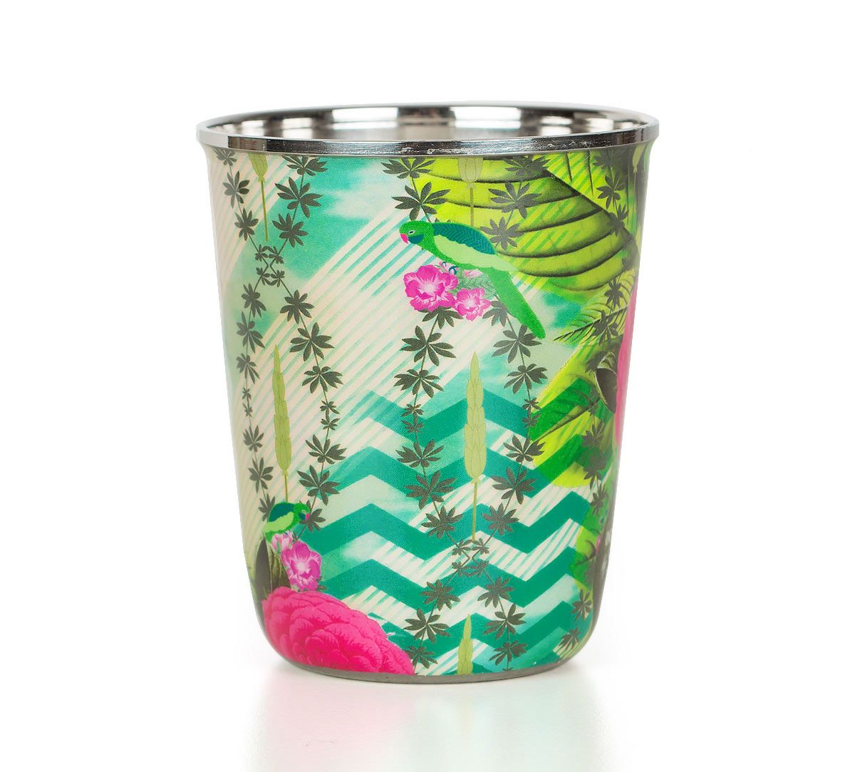 India Circus Herbs of Captivation Small Steel Tumbler Set of 2