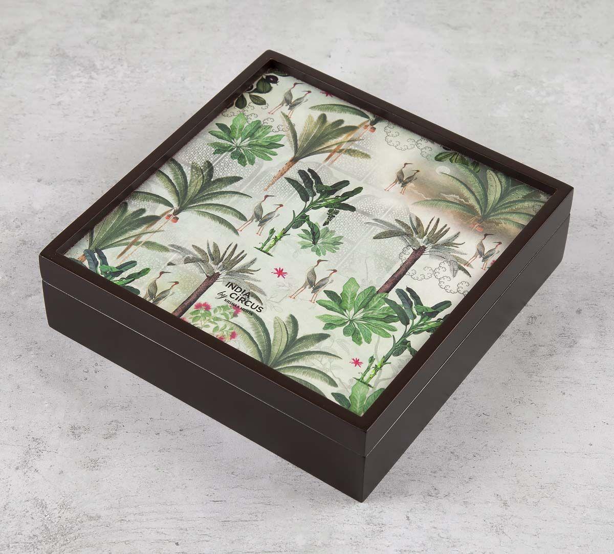 India Circus Heron's Garden Storage Box