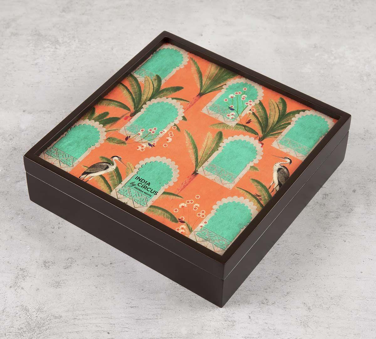 India Circus Heron's Palace Storage Box
