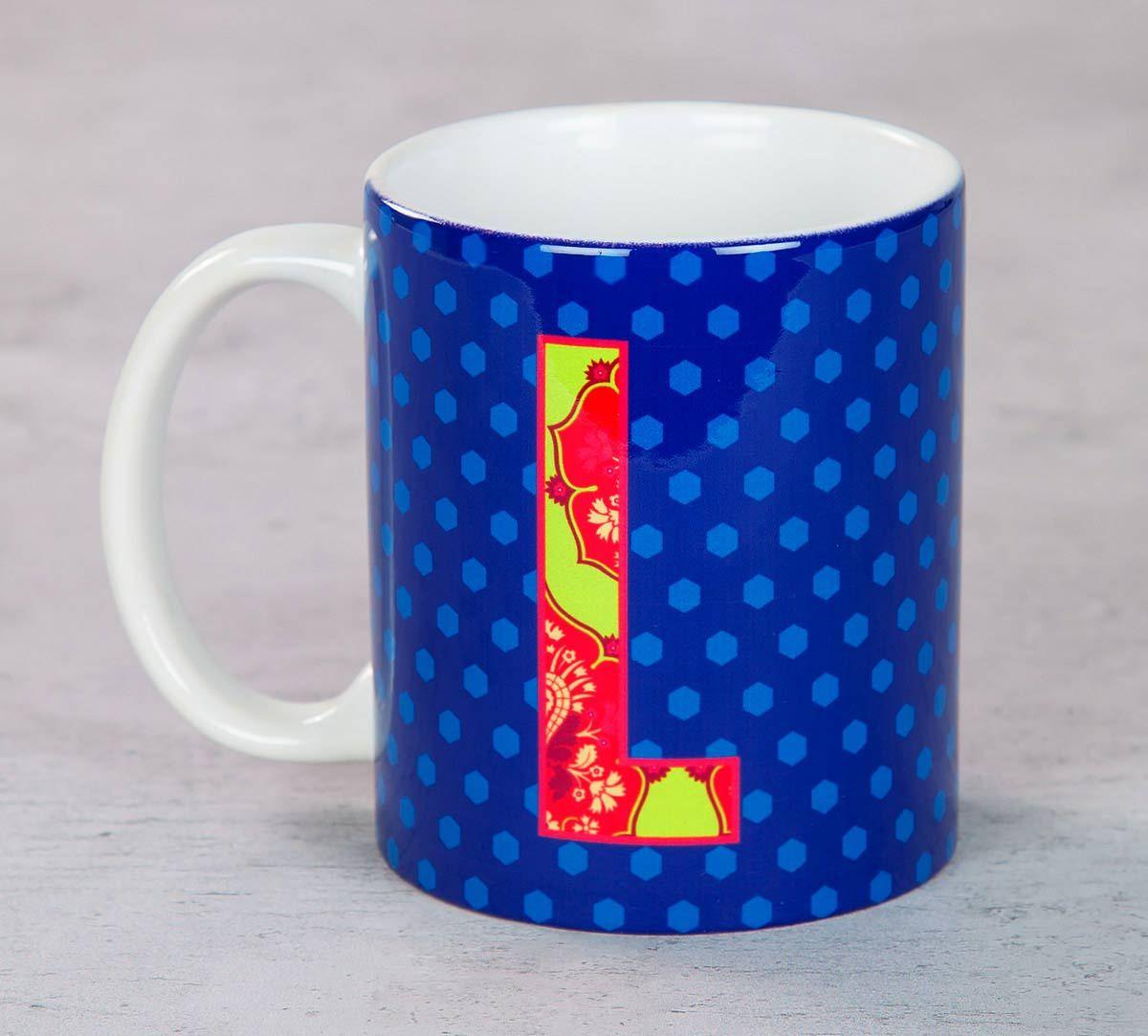 India Circus Lavish Alphabet L Mug