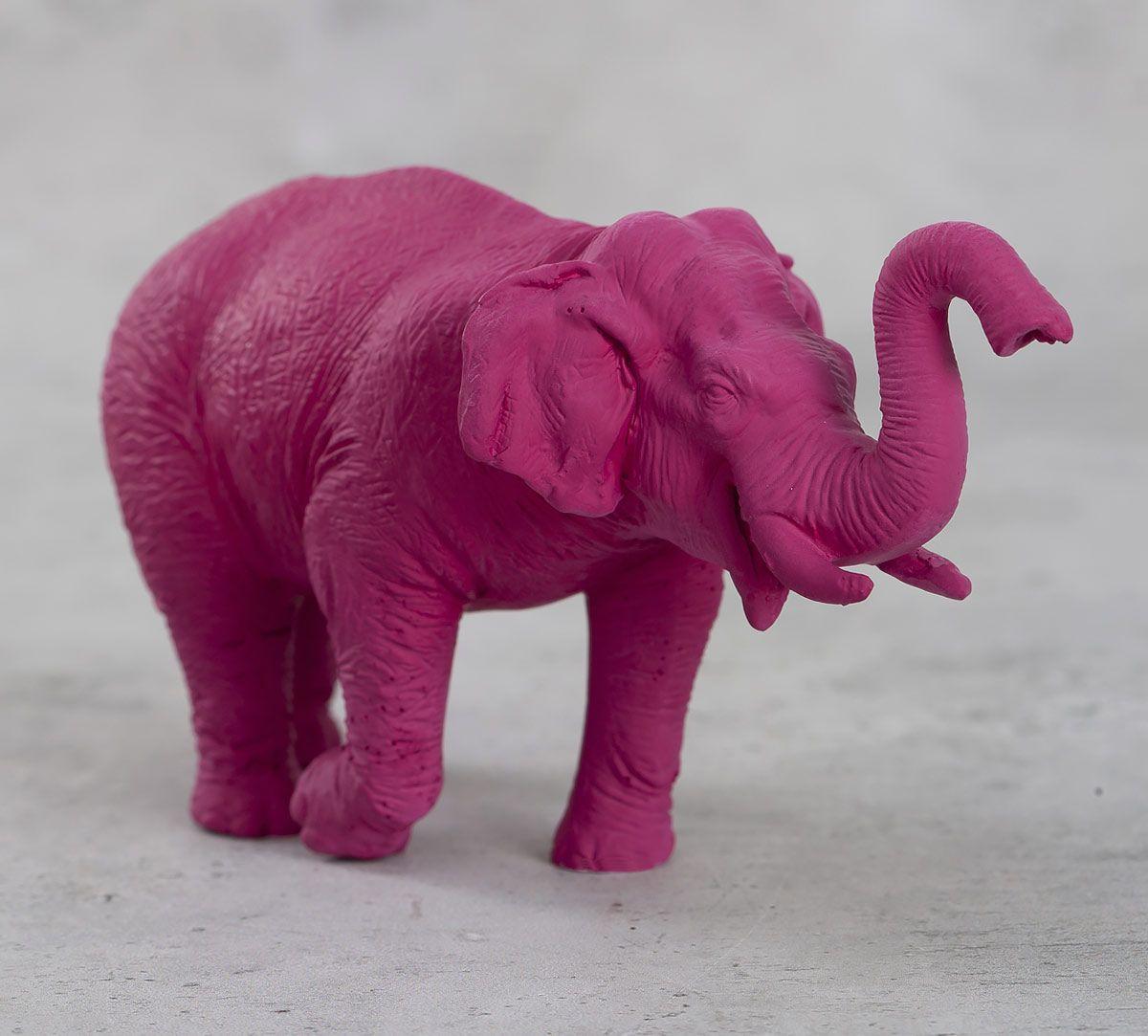 India Circus Magento Baby Tusker Figurine