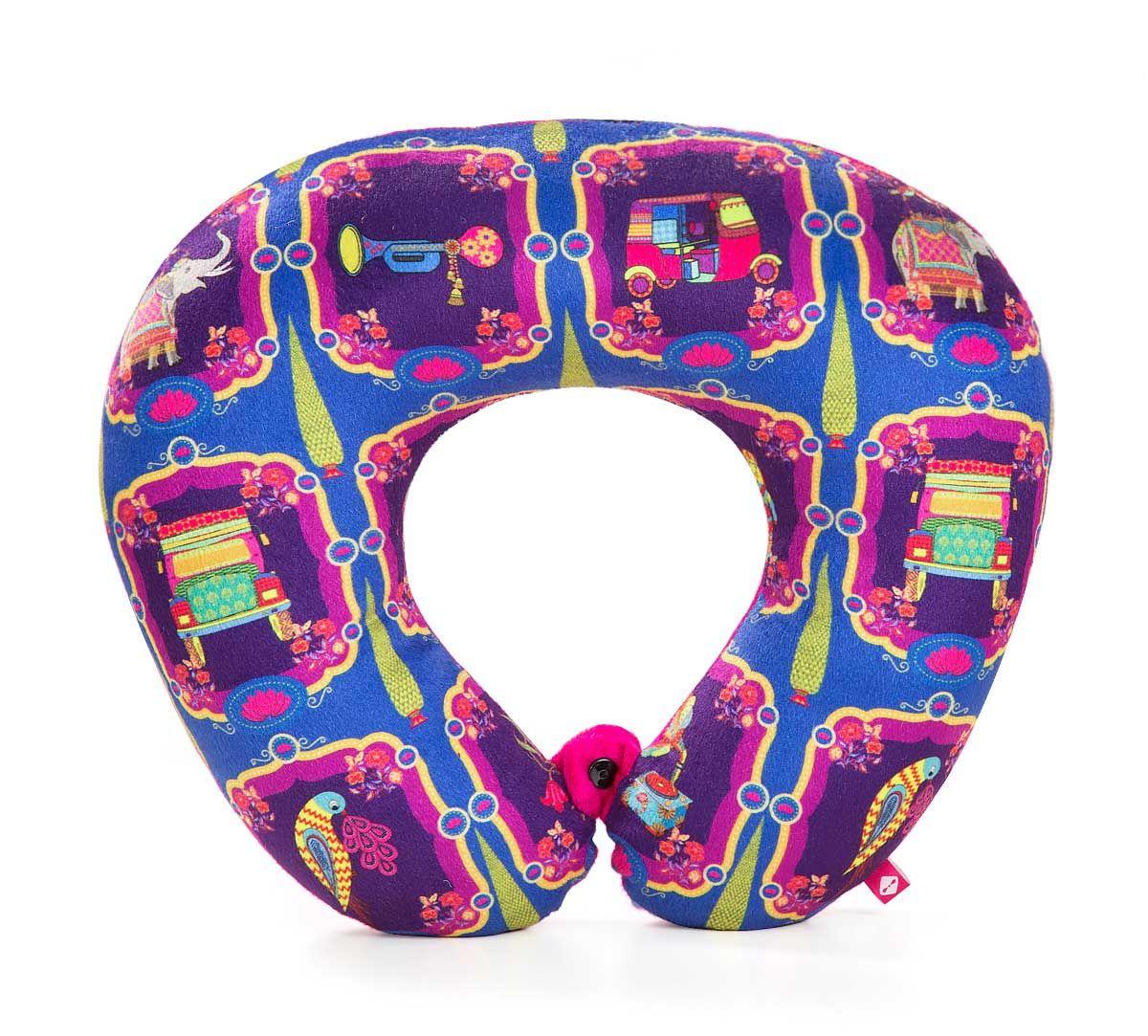 India Circus Magical Window Neck Pillow