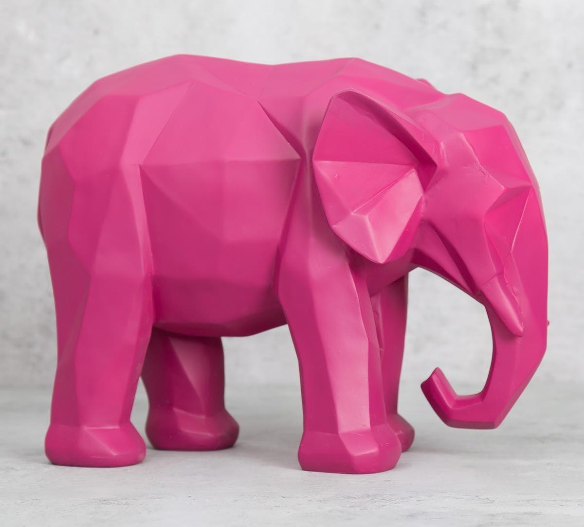 India Circus Mastodon Tusker Figurine