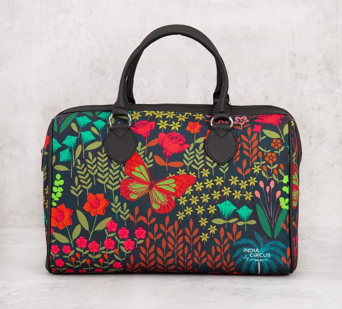 India Circus Mimosa Florals Duffle Bag