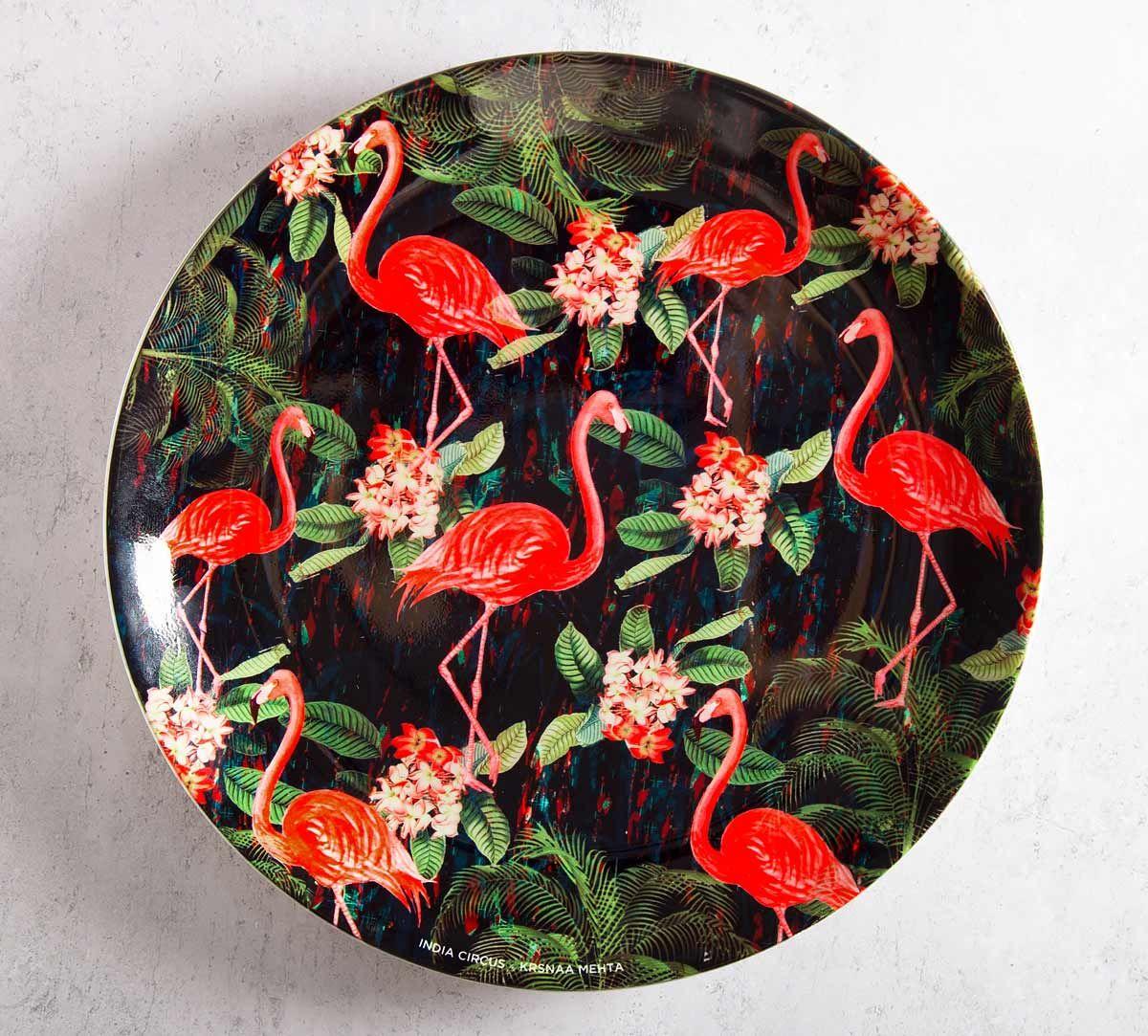 India Circus Moksha Hansa 10 inch Decorative and Snacks Platter
