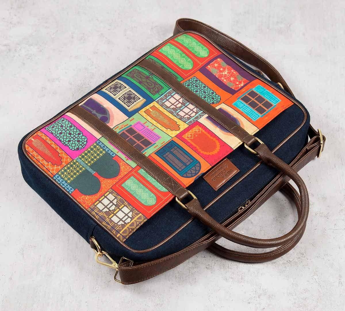 India Circus Mughal Doors Reiteration Laptop Bag
