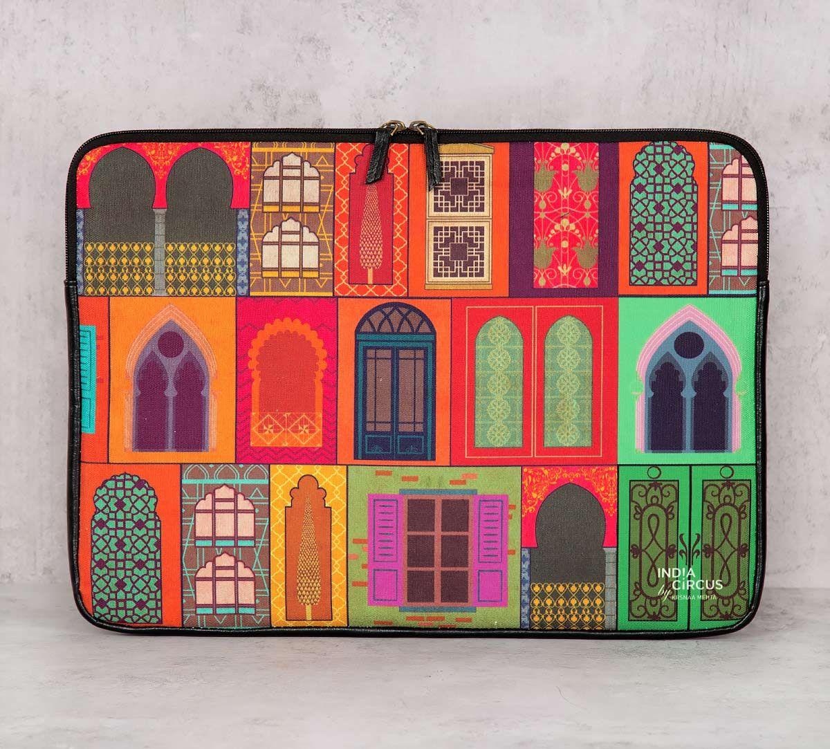 India Circus Mughal Doors Reiteration Laptop Sleeve