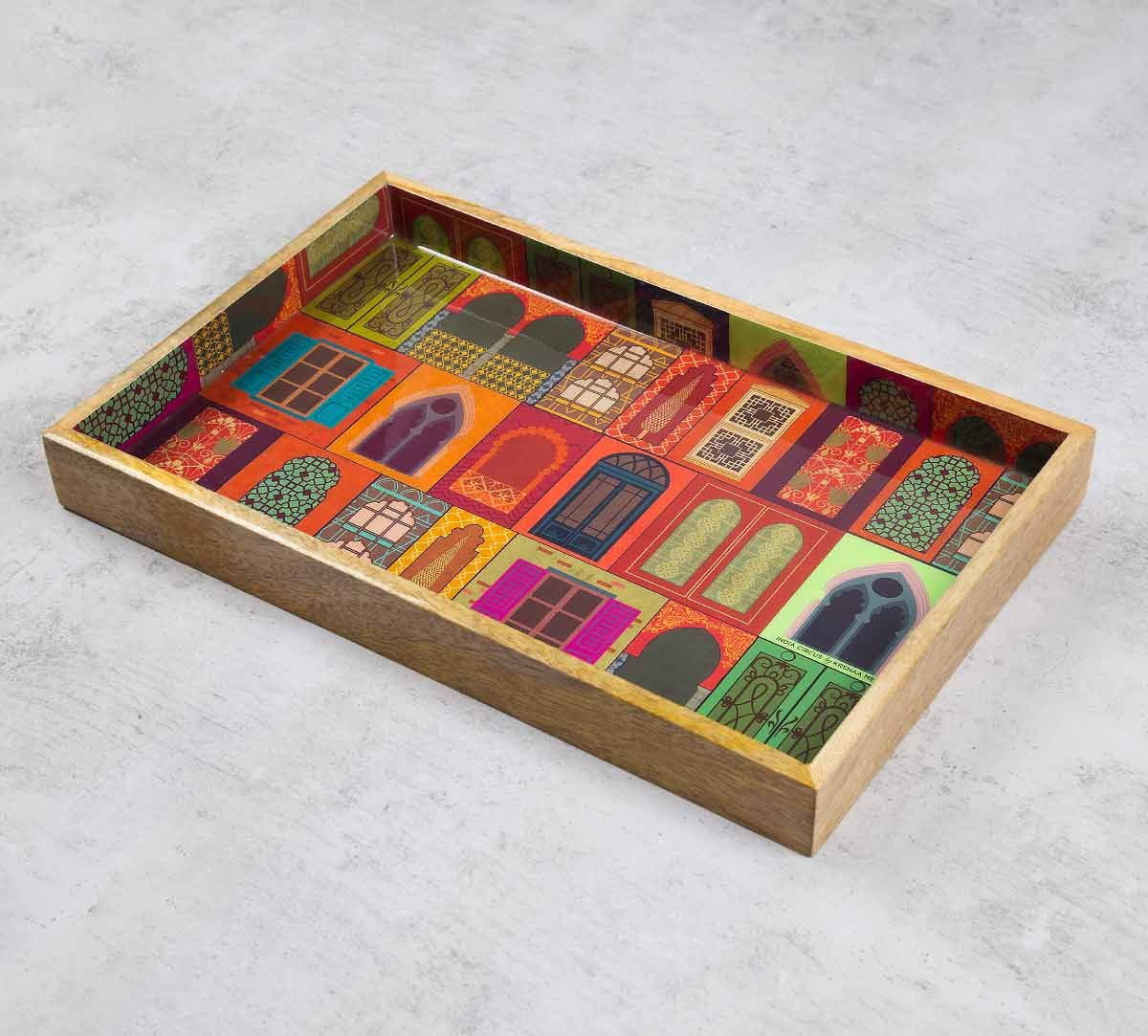 India Circus Mughal Doors Reiteration Serving Tray