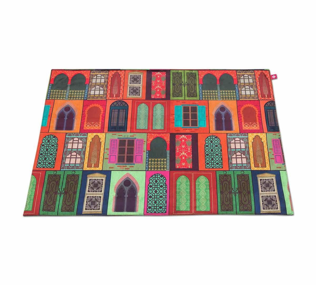 India Circus Mughal Doors Reiteration Table Mats Set of 6