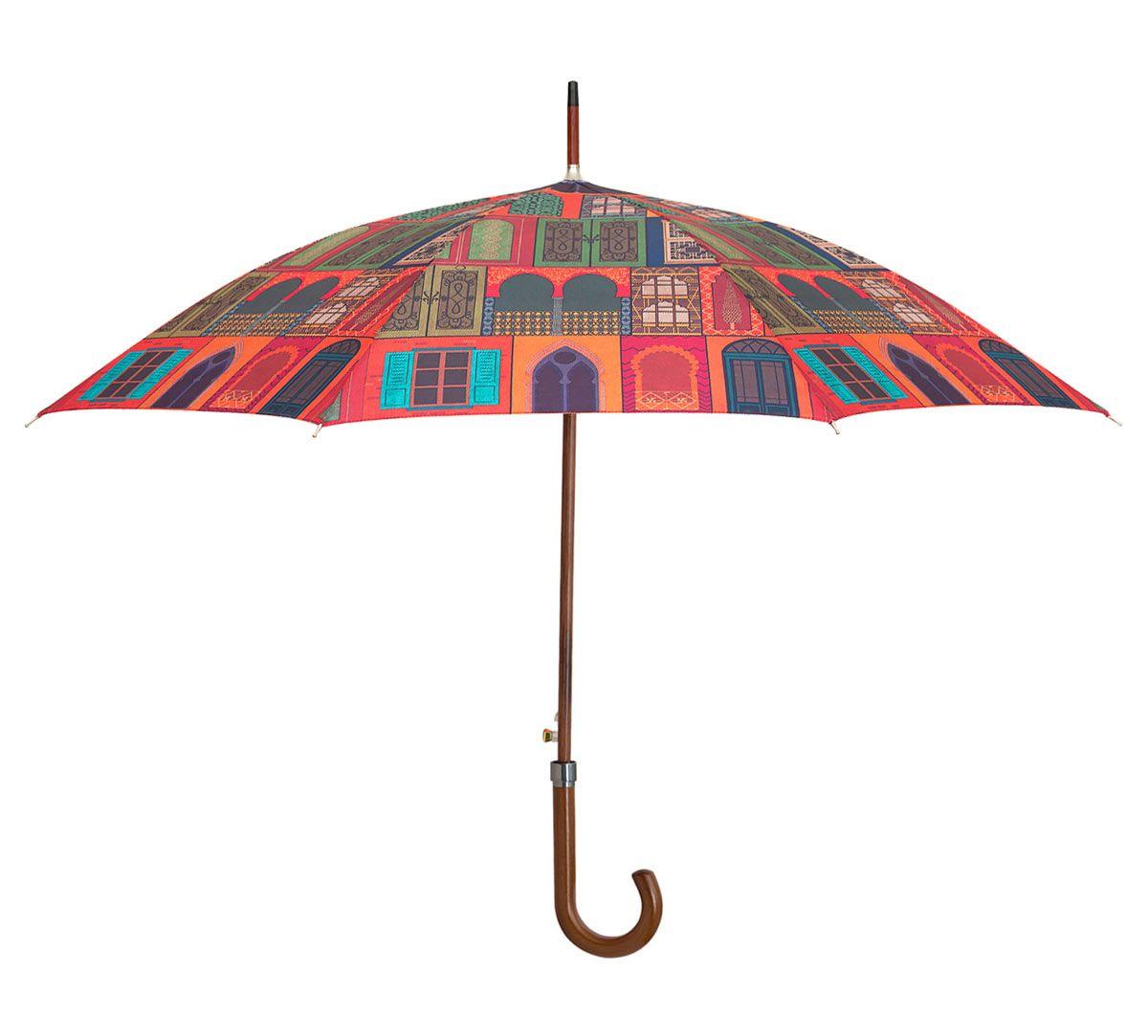 India Circus Mughal Doors Reiteration Umbrella