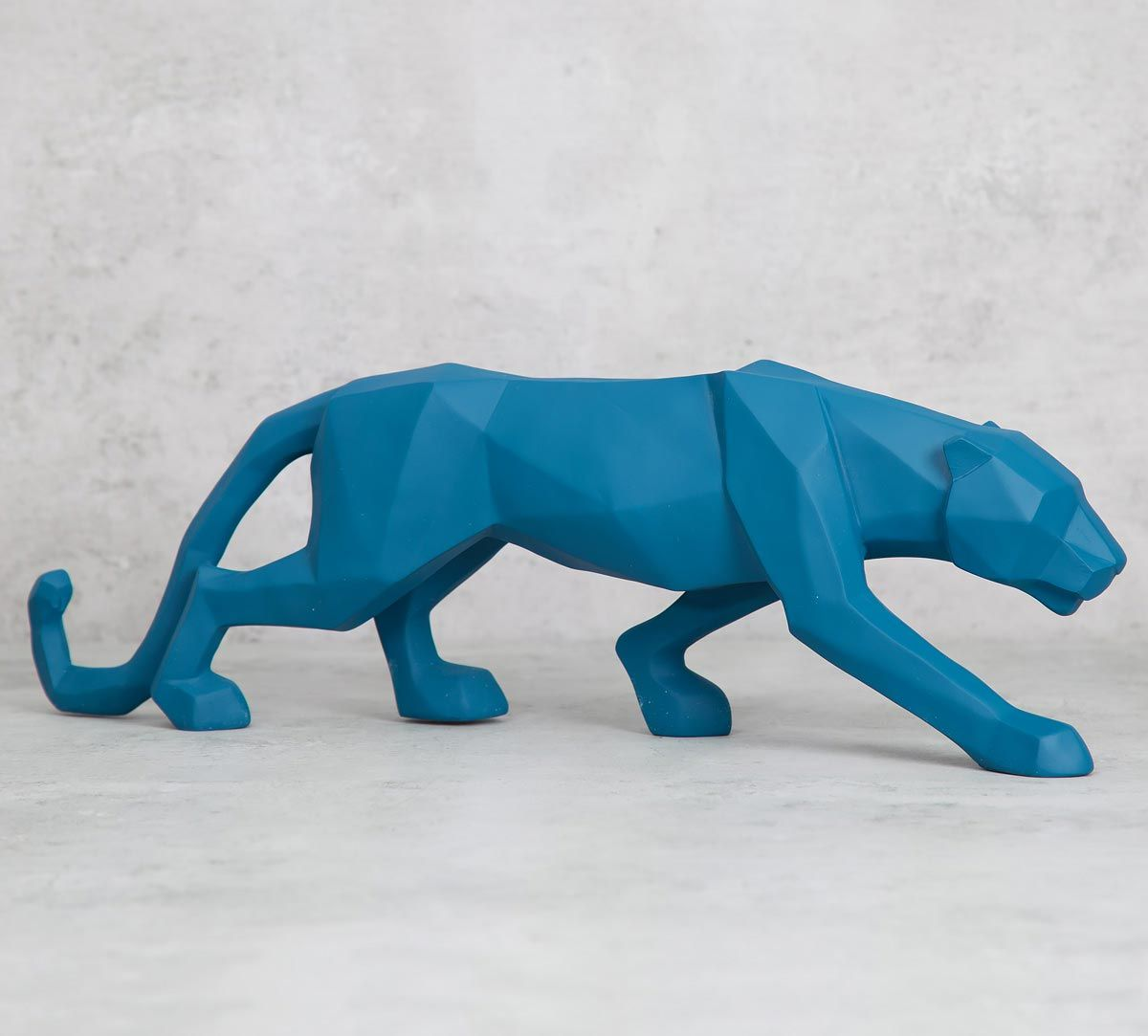 India Circus Muscular Jaguar Figurine