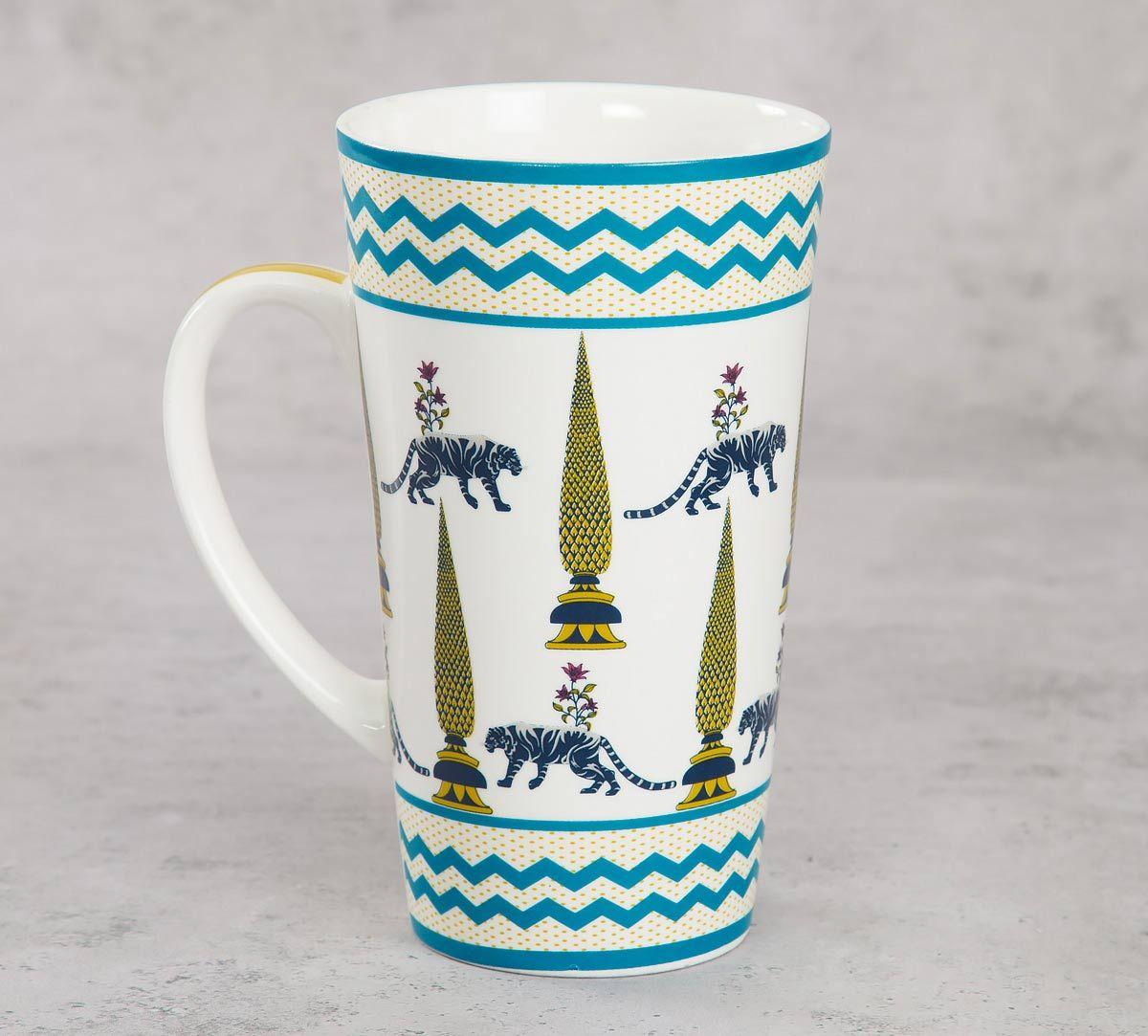 India Circus Mystical Garden Conical Mug (Set of 2)