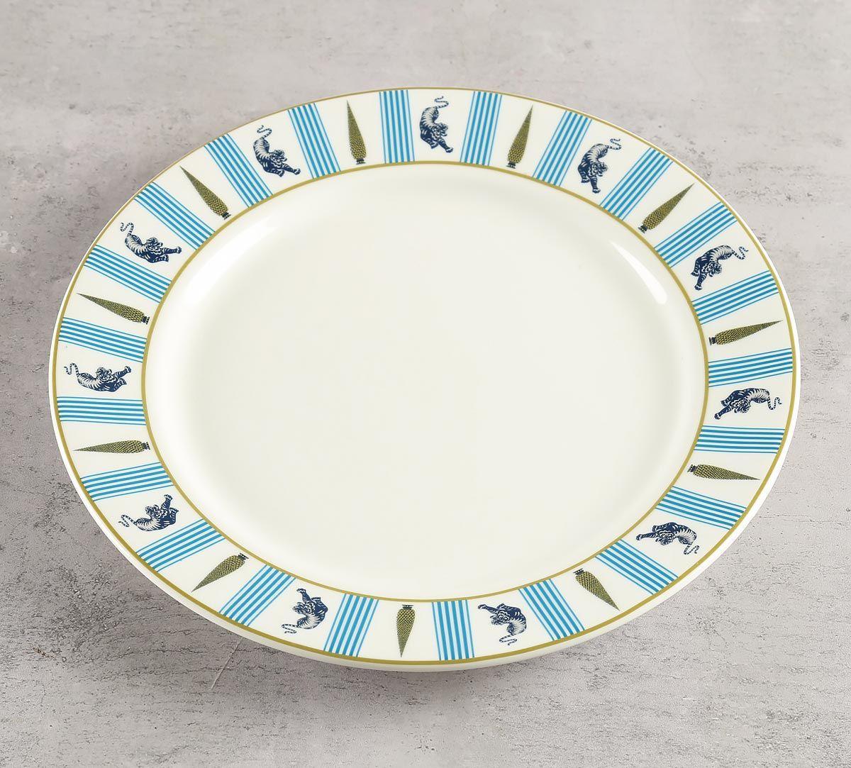 India Circus Mystical Garden Dinner Plate