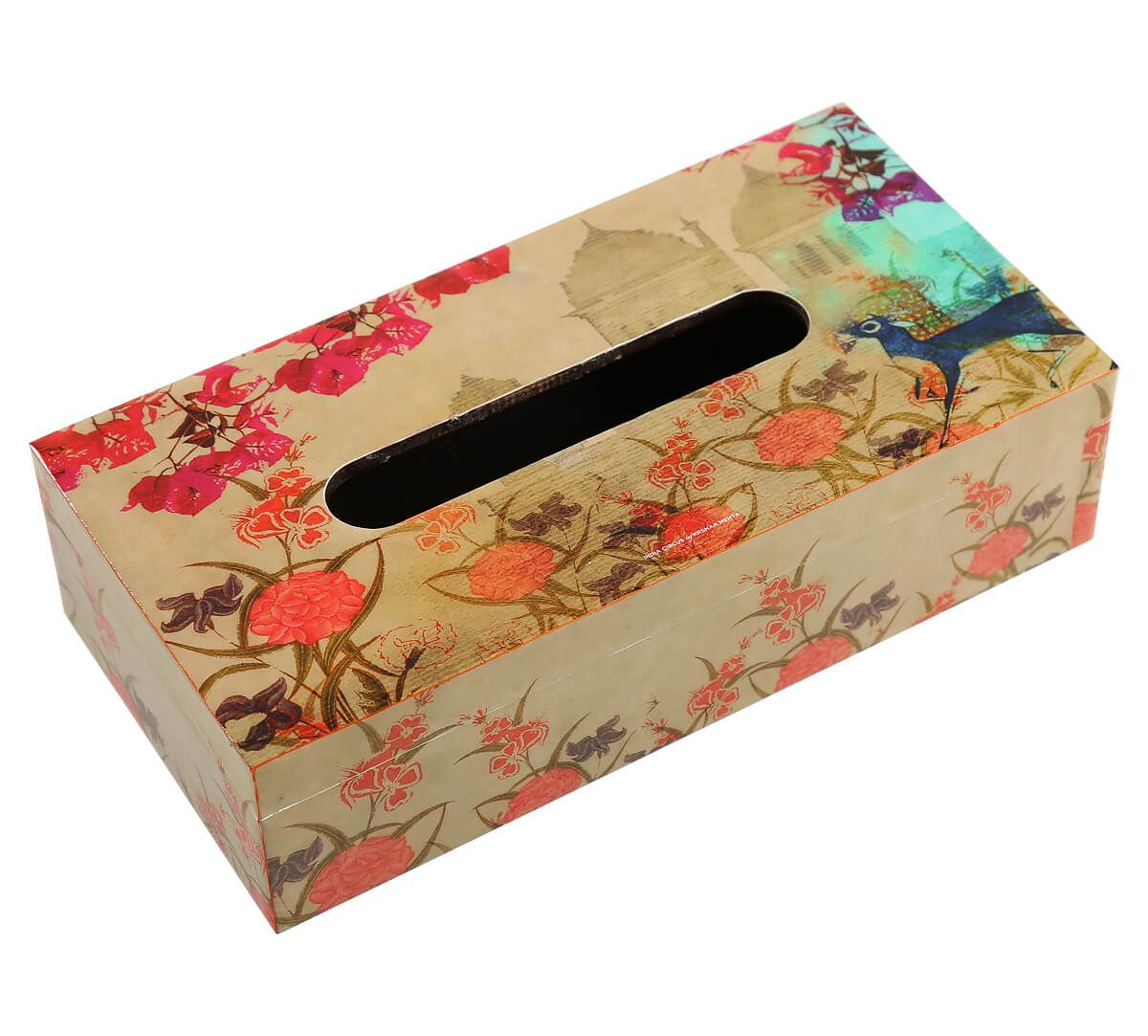 India Circus Palaces in Paradise Tissue Box Holder