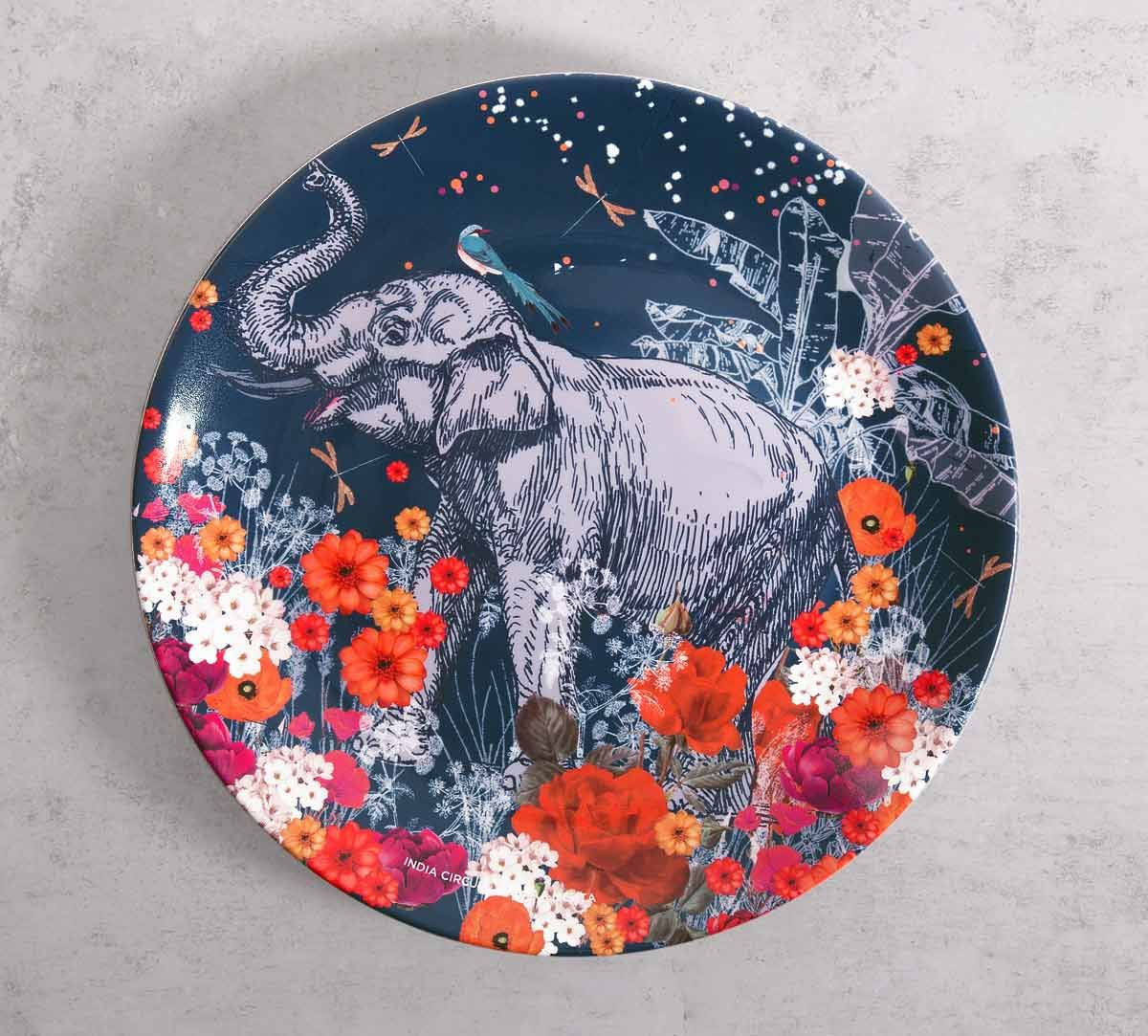 India Circus Paradise 10 inch Decorative and Snacks Platter