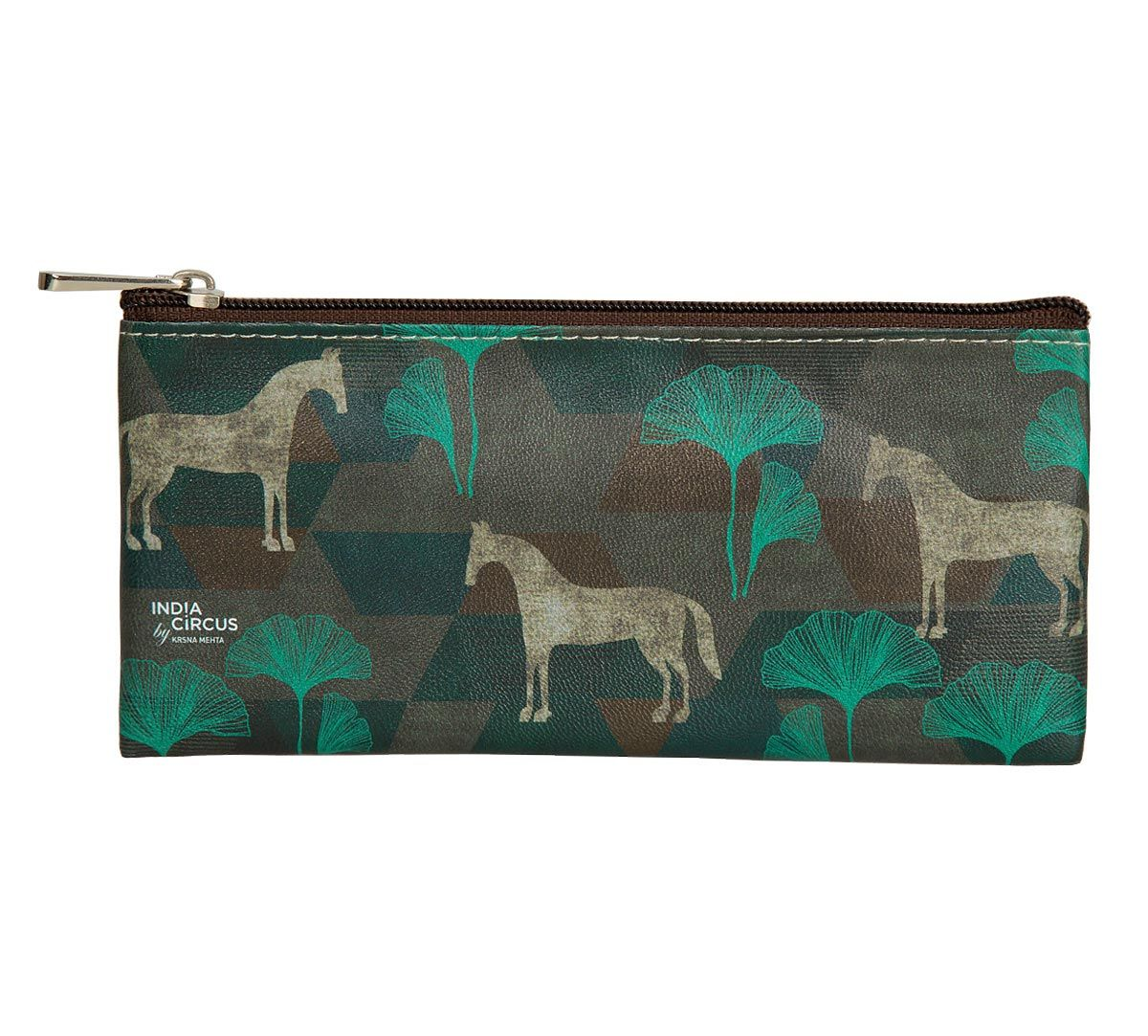 India Circus Peacock Gallant Gypsy Small Utility Pouch