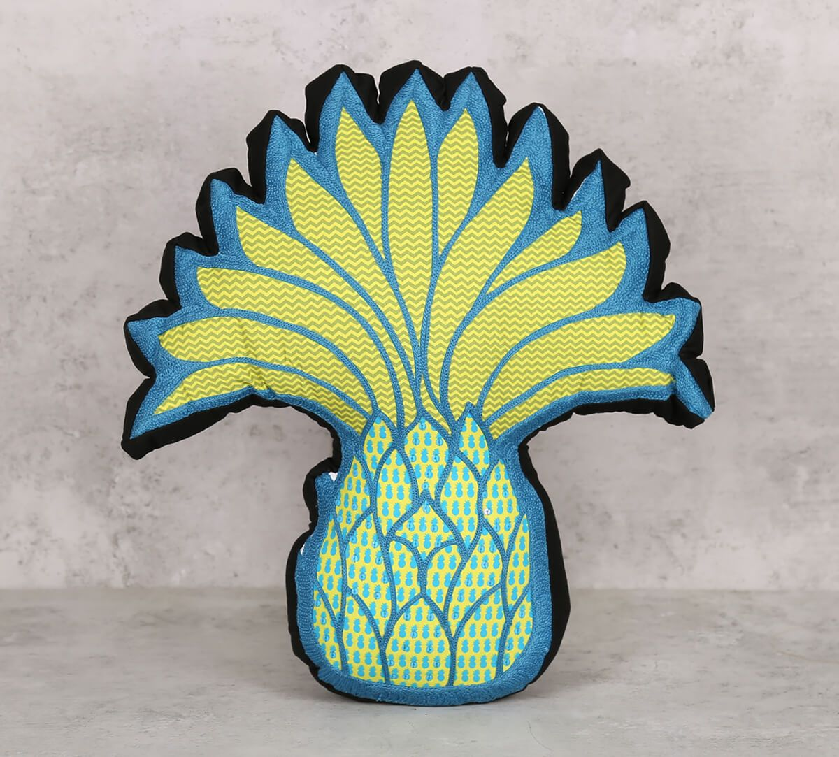 India Circus Pineapple Shaped Cushion
